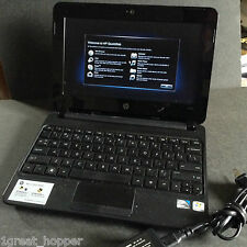 HP Mini-Notebook 110-3135dx Atom N455 1.66GHz 1GB 250GB RED w/ AC Charger