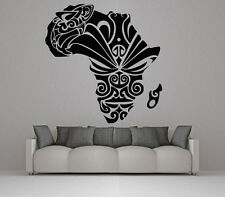 Wall Room Decor Art Vinyl Sticker Mural Decal Africa Tribal Ornament VY388