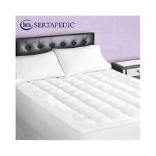 Serta Superior Loft Mattress Pad Queen Size Down Alternative Sertapedic Bed New