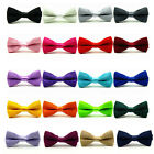 Classic Baby Boy Kid Children Pre Tied Party Wedding Tuxedo Bowties Tie Necktie