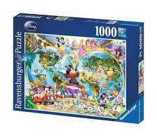 Ravensburger 15785 Disney World Map 1000 Piece High Quality Jigsaw Puzzle - New