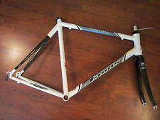 JAMIS COMET ROAD BIKE FRAME SET W MATCHING REYNOLDS OUZO COMP CARBON FORK 60 CM