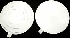 """LOT OF 2 FLAT 5"""" DRAIN STOPPER SINK TUB SHOWER BASIN DRAIN STOP USA QUALITY MADE"""