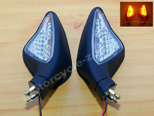 Rear Mirrors For Ducati All Year 2007-2012 848 1098 1198 with LEDs Pair Black