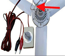 DC12V 5W Plastic Brushless Converter Motor Ceiling Fan + Speed Controller Switch