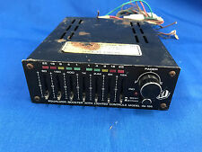 1980's TEI Model 49-185 Equalizer Booster 7 Band Fader Good Condition!! Lot03024