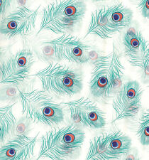 Beautiful Bright Peacock Feathers Tissue Paper #225 ~ 10 Large Sheets
