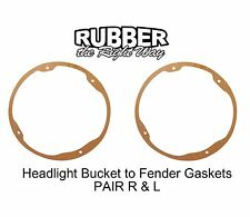 1941 - 1956 Ford Headlight Bucket to Fender Seals Pair