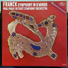 PAUL PARAY franck symphony in d minor LP VG+ MG 50285 Mercury USA Mono RFR-1