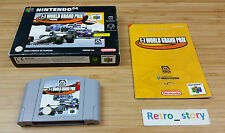 Nintendo 64 N64 F1 World Grand Prix PAL