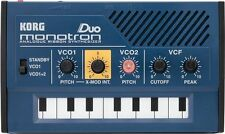 Korg Monotron Duo Analog Ribbon Synthesizer MS-20 Filter Dual Oscillator Synth