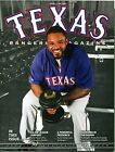2014 Texas Rangers Program Prince Fielder Volume 43 No. 2