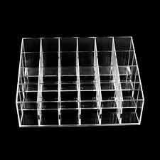 24 Makeup Lipstick Clear Acrylic Storage Display Rack Holder Cosmetic Organizer