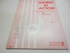 Chords in Action for Class and Individual Instruction in Piano Theory Bishop