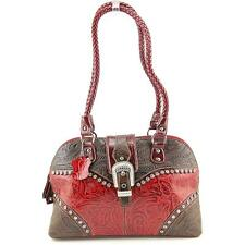 Madi Claire Betsy Shoulder Women Burgundy Shoulder Bag