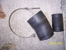 OEM FACTORY 88-91 Bombardier SeaDoo 580 587 SP SPi XP SPX Exhaust Hoses & Couple