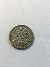 1933 - Silver - Three Pence - Great Britain - King George V Coin