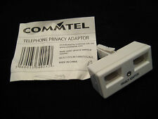 Commtel TELEPHONE PRIVACY DOUBLE ADAPTOR