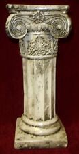 "15"" Ionic Column Greek Roman Pedestal Sculpture"