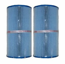 2 Pleatco Antimicrobial Spa Filters for Leisure Bay Spa C5345, FC-2970, PLBS50-M