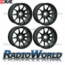 "XXR 527® T- 16"" x8.25 / ET0 4x100 & 108 Light Alloy Wheels Rims Flat Black"