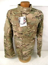 US Army ACU Multicam Camouflage Combat Uniform Coat or Shirt Size: Large-Long