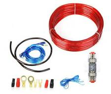 1500W 8GA Amplifier Installation Wiring Wire Amp Cable Kit Car Audio Subwoofer