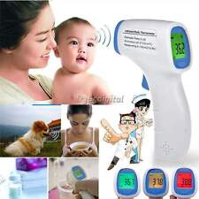 Body Skin LCD Digital Non-contact Infrared IR Thermometer For Baby Kid Adult Pet