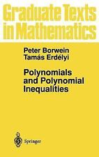 Polynomials and Polynomial Inequalities (Graduate Texts in Mathematics), , Erdel