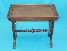 ANTIQUE RENAISSANCE REVIVAL ETCHED COPPER SIDE COFFEE TABLE