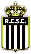"Sporting de Charleroi FC Belgium Football Soccer Car Bumper Sticker Decal 4""X5"""