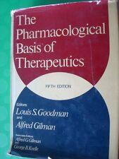 FARMACOLOGIA-GOODMAN E GILMAN-THE PHARMACOLOGICAL BASIS OF THERAPEUTICS-1975