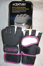 $45 Century Women's Kickboxing MMA Bag Gloves! Ladies Pink Training Workout Gray