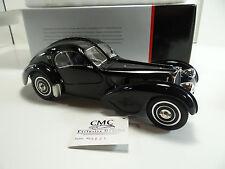 1/18 CMC Bugatti Type 57 SC Atlantic Coupe - Black