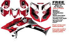 DFR ICON GRAPHIC KIT RED SIDES/FENDERS 04-05 HONDA TRX450R TRX 450 TRX450