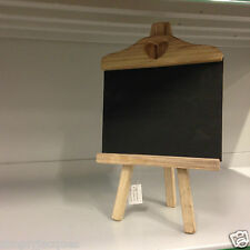Rustic Wooden Chalk Board,Blackboard Easel/Stand with Heart Cut Out Wedding Home