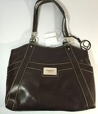 Liz Claiborne Brown Purse Berkshire Shopper Bag New