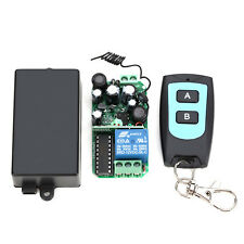 220V 1 Channel Remote Control Switch with Waterproof Remote Control