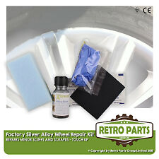 Classic Mercedes Silver Alloy Wheel Minor Stuffs & Scrapes Damage Repair Kit