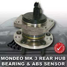 Ford Mondeo MK3 01-07 TDCi REAR Wheel Bearing Hub & ABS Sensor PREMIUM QUALITY