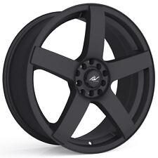 4-NEW ICW Racing 216B Mach 5 16x7.5 5x100/5x114.3 +38mm Satin Black Wheels Rims