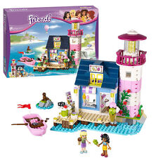 478Pcs Friends Lighthouse Building Block Fairy Bricks Toys For Girls Kids gift