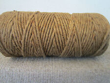 "COIL OF 1/4"" HEMP ROPE, SAILBOAT RIGGING LINE"