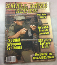 Full Auto Lugers Socimi Weapon Systems Dec 2003  Small Arms Review Magazine