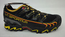 La Sportiva Mens Ultra Raptor Mountain Running Shoes 16U Black/Yellow 43