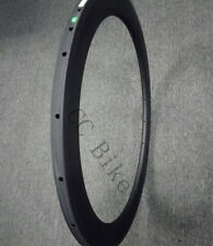 60mm Tubular Road Rim 23mm Wide 700C Bicycle Carbon Rim 3K matte 1pc