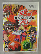 Factory Sealed Bakugan Battle Brawlers Video Game Nintendo Wii Activision 2009