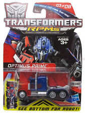 Hasbro Transformers Rotf Metal Heroes Series Rpm Optimus Prime Autobot New AU