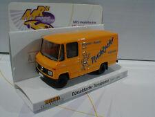 """Brekina 36825 - Mercedes Benz L 406 D Kasten gelb """" Nudelpeter """" 1:87"""