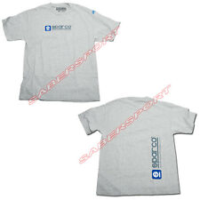 """IN STOCK"" AUTHENTIC SPARCO APPAREL ""WWW"" T-SHIRT GRAY - SIZE- SMALL"